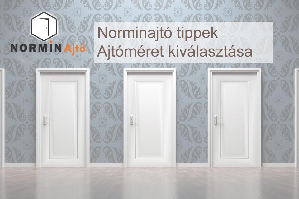 A helyes ajtóméret kiválasztása